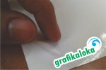 Kertas Sticker Transparan A4